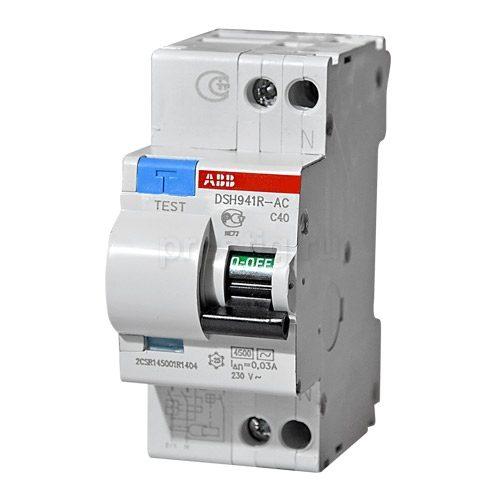Дифференциальные автоматы ABB DS941 DSH941R