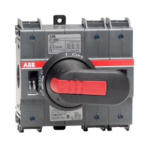 ABB OT160E3 Выключатель-разъединитель 3Р 160А с ручкой и переходником