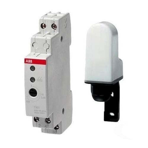 Реле освещенности ABB TW1 c датчиком 1 диапазон регулирования