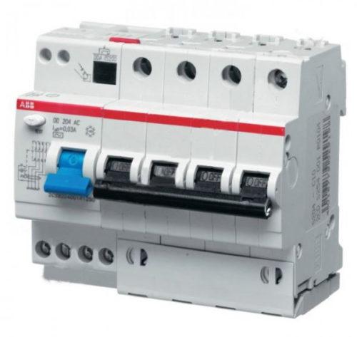 Дифференциальные автоматы ABB DS204