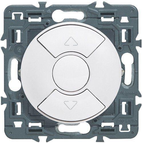 Legrand Celiane выключатель для управления приводами кнопочный 6А (белый)