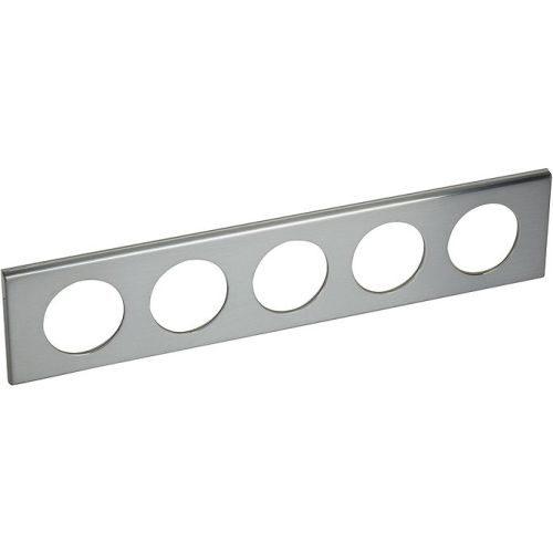 Legrand Celiane Рамка 5п Фактурная сталь