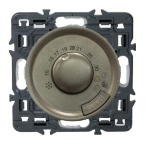 Legrand Celiane Терморегулятор для теплых полов с датчиком пола (графит)