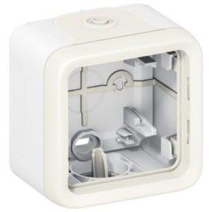 Legrand Plexo Коробка для накладного монтажа с мембранными сальниками Белый 1 пост