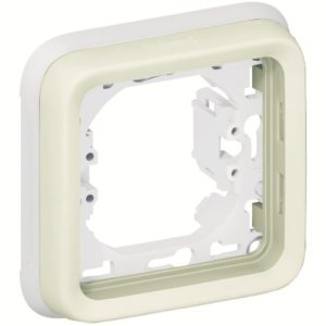 Legrand Plexo Суппорт с рамкой для встроенного монтажа Белый 1 пост