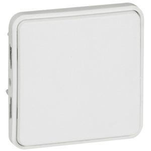 Legrand Plexo Кнопочный выключатель с нормально-открытым контактом Белый 10А