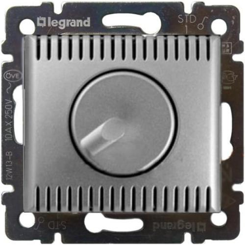 Legrand Valena Светорегулятор поворотный 1000Вт Алюминий