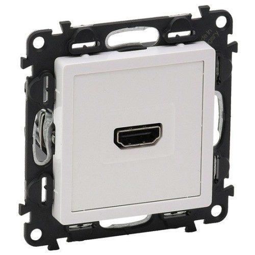 Legrand Valena Life Розетка HDMI 1.3 с винтовыми клеммами Белая