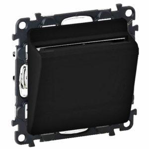 Legrand Valena Allure Выключатель электронный с ключом-картой Черный