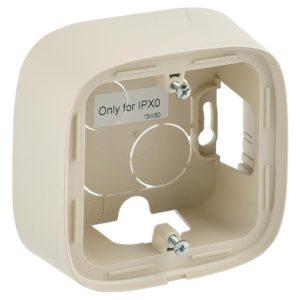 Legrand Valena Allure Одноместная коробка для накладного монтажа Слоновая кость