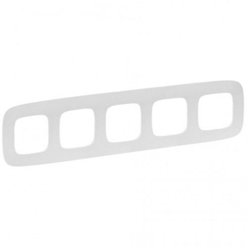 Legrand Valena Allure Рамка 5 местная универсальная Белая