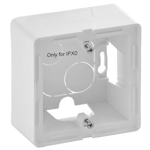 Legrand Valena Life Одноместная коробка для накладного монтажа Белая