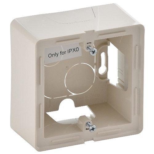 Legrand Valena Life Одноместная коробка для накладного монтажа Слоновая кость