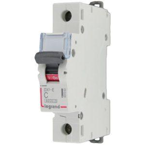 Автоматический выключатель Legrand DX3-E C40 1П 6000/6kA