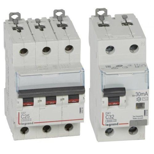 Legrand Автоматические выключатели DX3