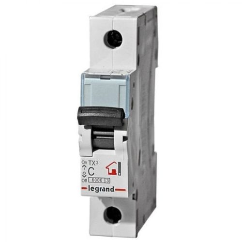 Автоматический выключатель Legrand TX3 C6A 1П 6000/6kA