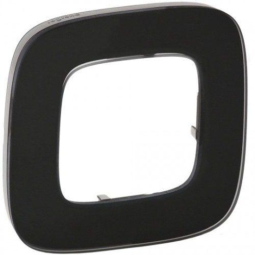 Legrand Valena Allure Рамки Черное стекло