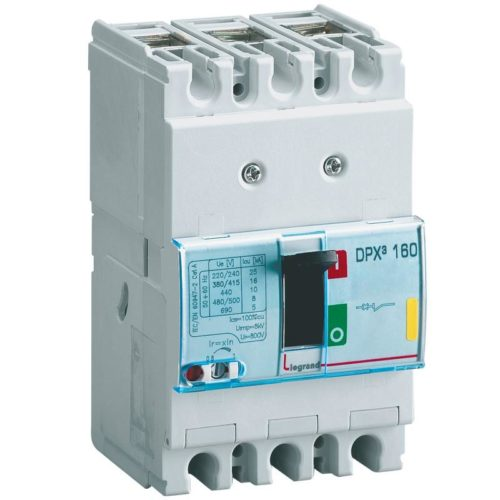 Legrand Автоматический выключатель DPX3 160 3P 40А 16kA