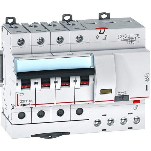 Legrand Автоматический четырёхполюсный выключатель дифференциального тока Legrand DX3 С63 AC30