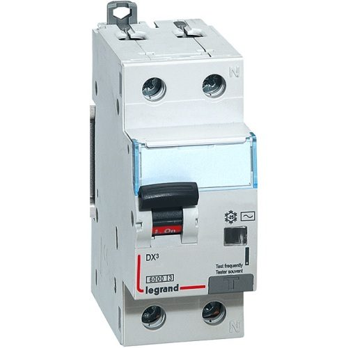 Legrand Автоматический однополюсный выключатель дифференциального тока DX3 С6 AC30