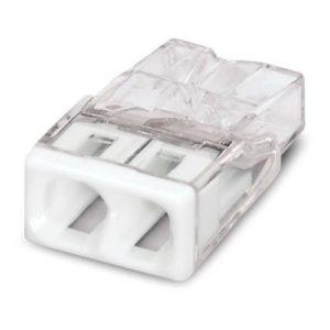 Зажим клемма Wago на 2 провода 0.5-2.5 мм² с пастой