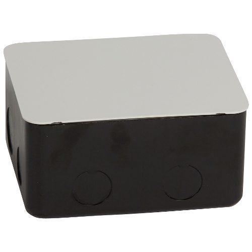 Монтажная коробка металлическая для выдвижных блоков 4 модуля