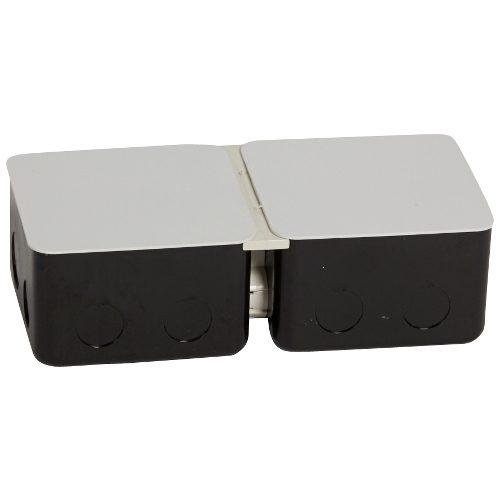 Монтажная коробка металлическая для выдвижных блоков 6 модулей