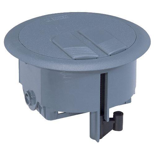 Напольная коробка 3 модуля, серый RAL