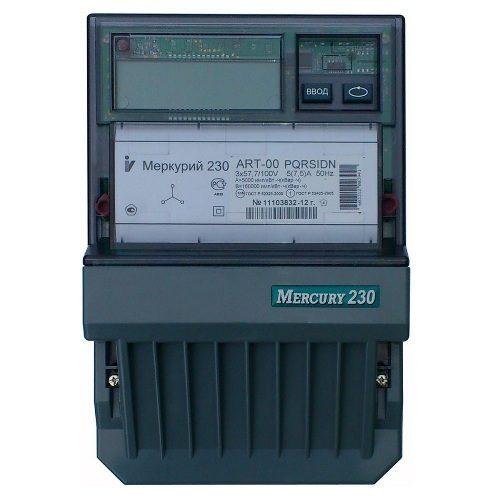 Электросчетчик Меркурий 230 АRT-00 PQRSIDN трехфазный, активно-реактивный многофункциональный