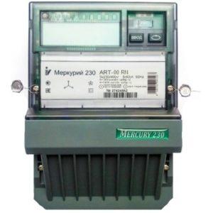 Электросчетчик Меркурий 230 АRT-00 С(R)N трехфазный, активно-реактивный многофункциональный