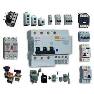 Автоматические выключатели, УЗО, контакторы, рубильники