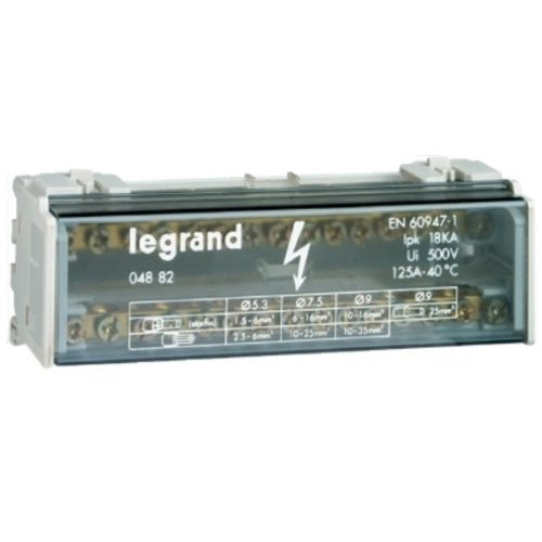 Кросс-модуль 2Px15 контактов 125А Legrand