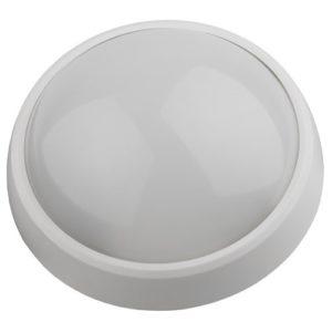 Светодиодный светильник IP54 12Вт 4000К 960лм круг 220х98 белый с датчиком движения ЭРА