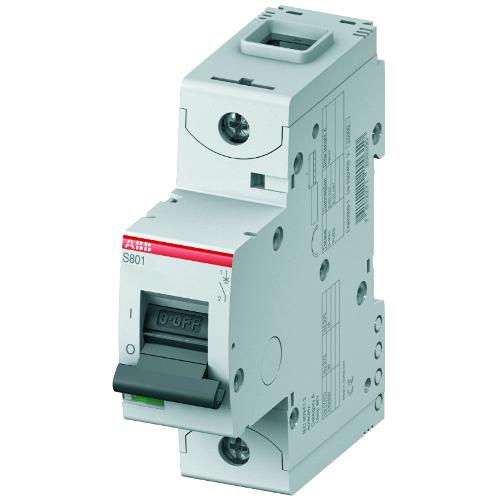 Автоматический выключатель однополюсный ABB S801C C125