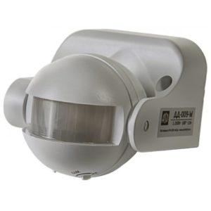 Датчик движения инфракрасный ДД-009-W 1200Вт 180 градусов 12м IP44 белый ASD