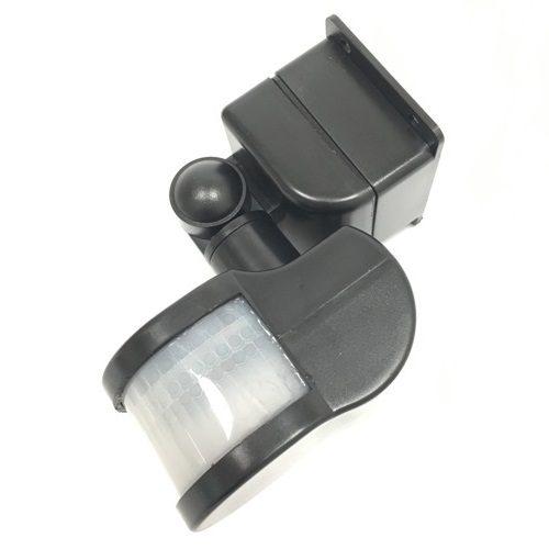 Датчик движения инфракрасный ДД-018-B 1200Вт 270 градусов 12м, IP44 черный ASD