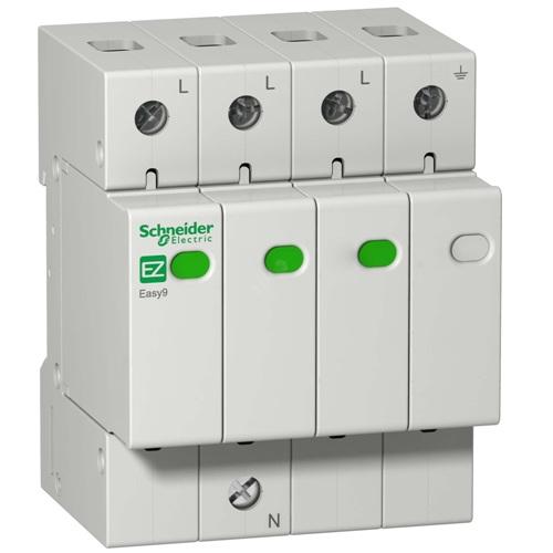 Ограничитель перенапряжение (УЗИП) EASY9 3П+H 20кА 400В Schneider Electric