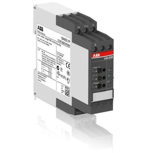 Однофазное реле контроля напряжения CM-ESS.1S (диапазоны измерения 3- 30В, 6-60В, 30-300В, 60-600 AC/DC)