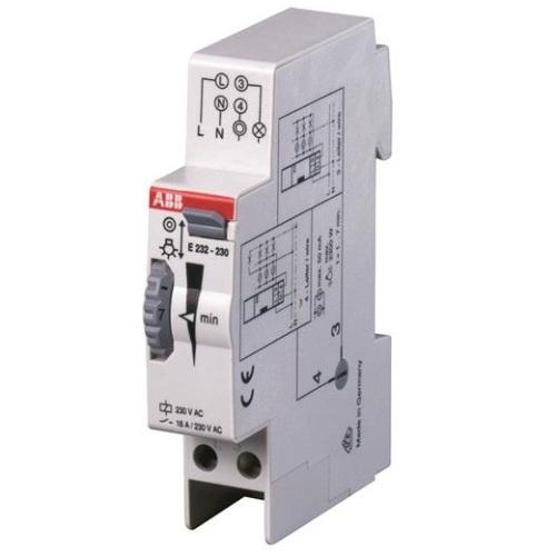 Реле электромеханическое для лестничных клеток ABB Е232E-230N 0.5-20 минут