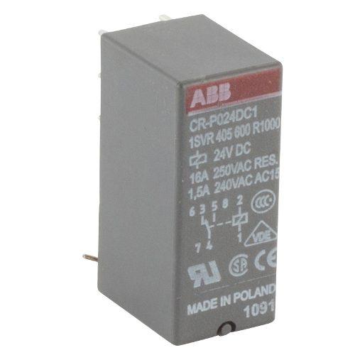 Реле промежуточное ABB CR-P024DC1 24B DC 1ПК (16А)
