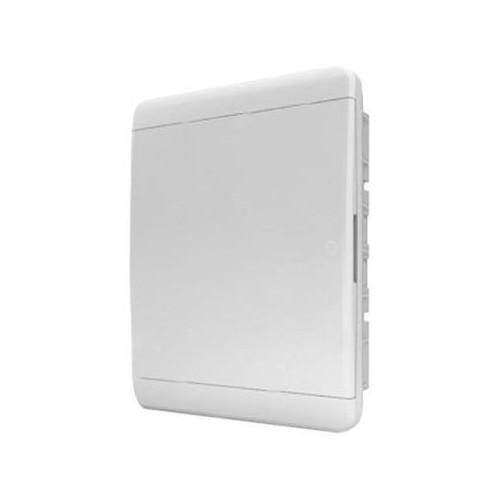 Щит распределительный встраиваемый Tekfor B IP41 на 24 модуля с непрозрачной белой дверцей