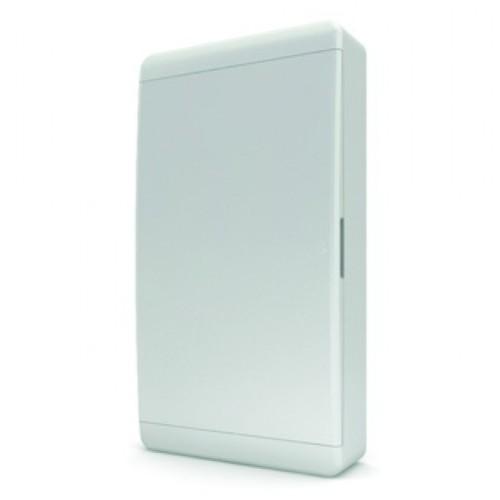Щит распределительный встраиваемый Tekfor B IP41 на 36 модулей с непрозрачной белой дверцей