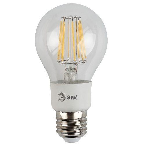 Лампа светодиодная 5 (45) Вт цоколь E27 грушевидная белый свет 30000 ч. F-LED А60-5w-827-E27 ЭРА