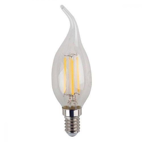 Лампа светодиодная 5 (40) Вт цоколь E14 свеча на ветру холодный белый свет 30000 ч. F-LED BXS-5W-840-E14 ЭРА