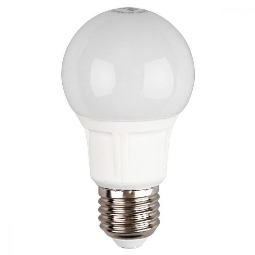 Лампа светодиодная 8 (70) Вт цоколь E27 грушевидная холодный белый свет 30000 ч. LED SMD А55-8W-840-E27 ЭРА