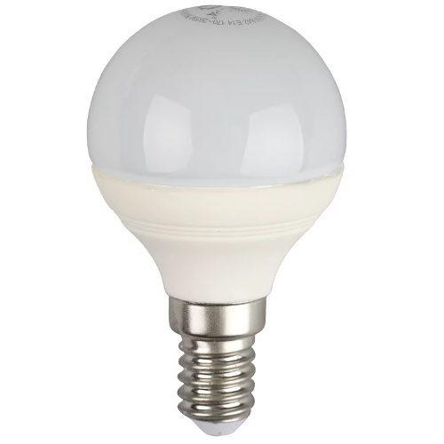 Лампа светодиодная 5 (40) Вт цоколь E14 шар холодный белый свет 30000 ч. LED SMD P45-5W-840-E14 ЭРА