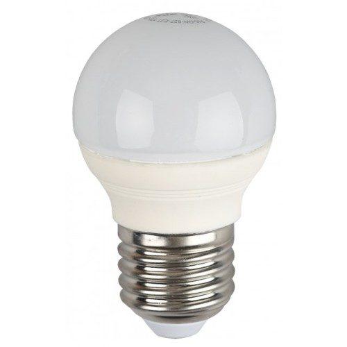 Лампа светодиодная 7 (60) Вт цоколь E27 шар холодный белый свет 30000 ч. LED SMD А45-7W-840-E27 ЭРА