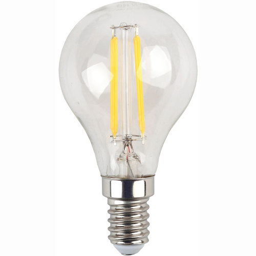 Лампа светодиодная 5 (40) Вт цоколь E14 шар холодный белый свет 30000 ч. F-LED P45-5W-840-E14 ЭРА
