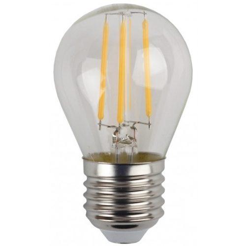 Лампа светодиодная 5 (40) Вт цоколь E27 груша теплый белый свет 30000 ч. F-LED P45-5W-827-E27 ЭРА