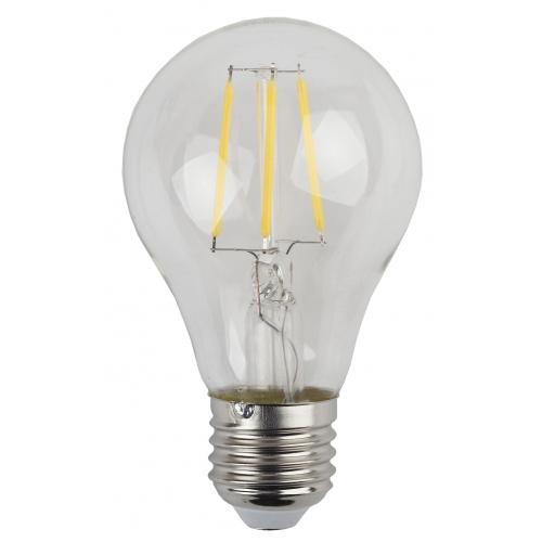 Лампа светодиодная 9 (80) Вт цоколь E27 грушевидная теплый белый свет 30000 ч. F-LED А60-9w-827-E27 ЭРА